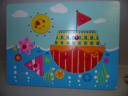 Puzzle picot bateau