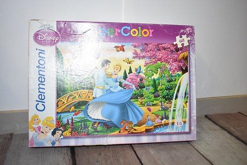 CLEMENTONI super color puzzle 60 P