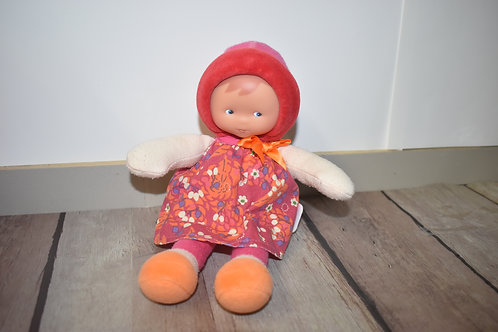 COROLLE poupée chiffon tête dure 24 cm