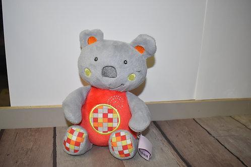 TINEO doudou musical koala 25cm