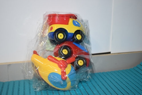 SMOBY lot 3 vehicules