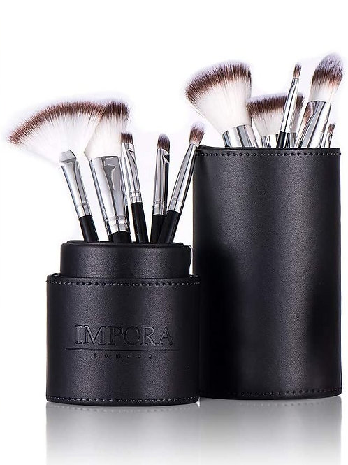 Pro Makeup Brush Set with Case