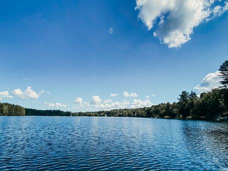 La pêche sur le lac à la Truite