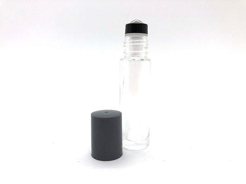 31 to 40 - 10ml glass steel ball roller bottles