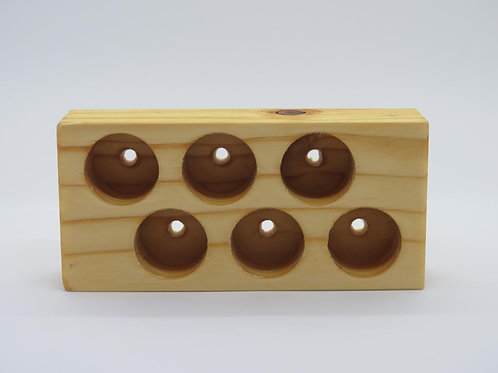 Wooden Stand 6 - large hole