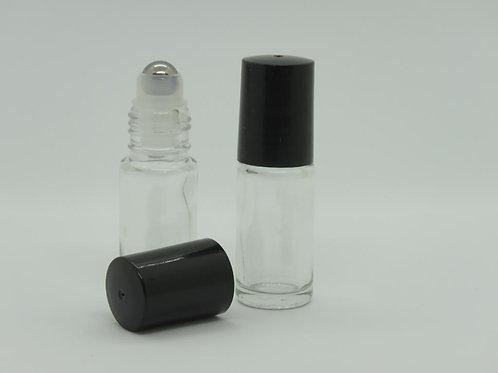 5ml glass steel ball roller bottles