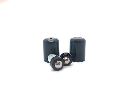 Steel ball roller top and lid for doTerra bottles