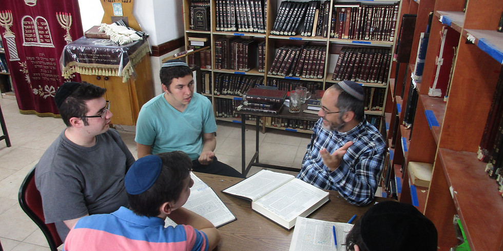 [Digital Yeshiva] Meet The Rebbeim