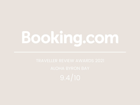 We Are A Traveller Review Awards 2021 Winner on Booking.com!