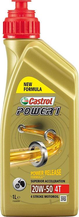 Castrol Power1 Semi-Synthetic 20W50 1L