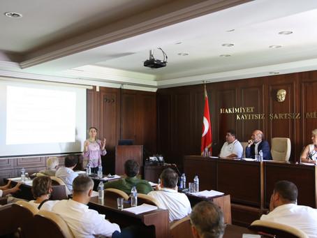 Çalışmalarımızı Adalar Belediye Meclisi Toplantısında Anlattık