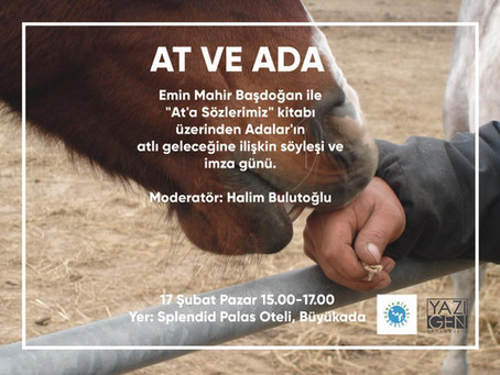 Ada ve At etkinliği 17 Şubat'ta gerçekleşti.