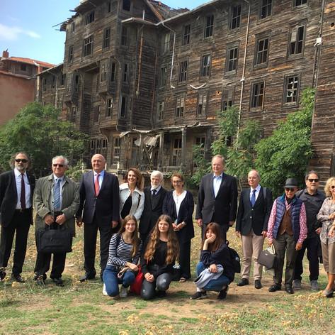 AB Türkiye Delegasyonu Başkanı Berger'in Yetimhane Ziyareti