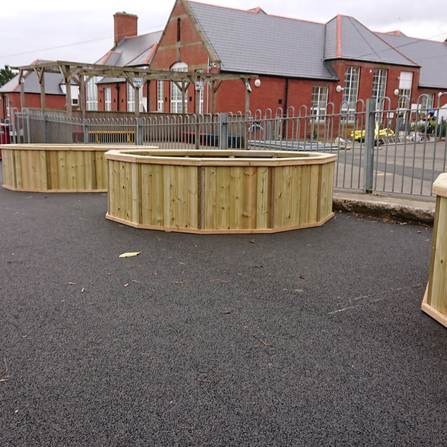 Large-Wooden-Planters-for-Schools