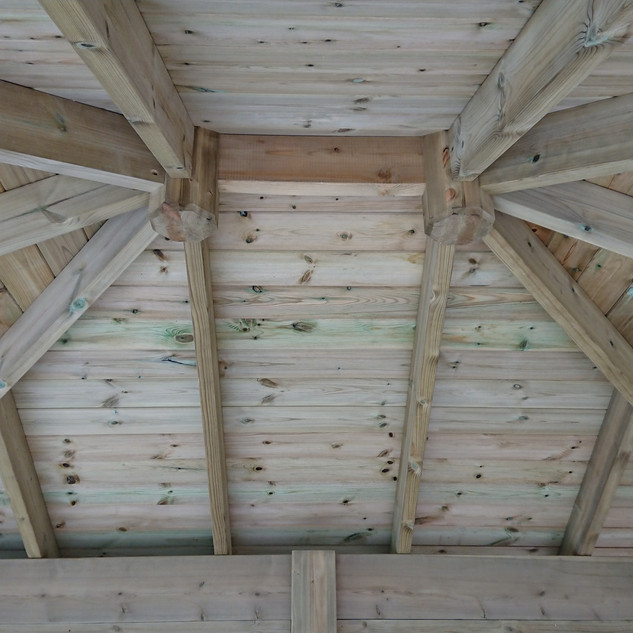 Wooden-Gazebo-Roof
