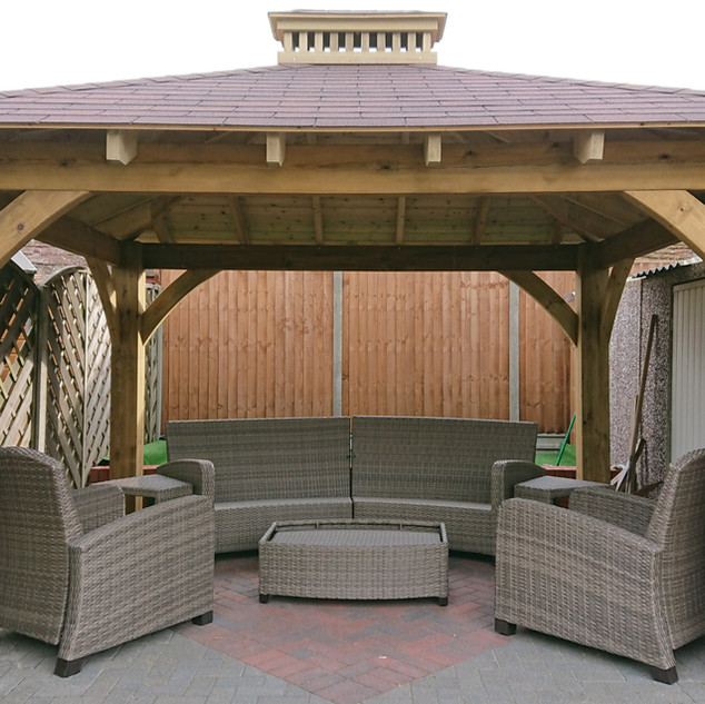 Garden-Gazebo-with-shingle-roof