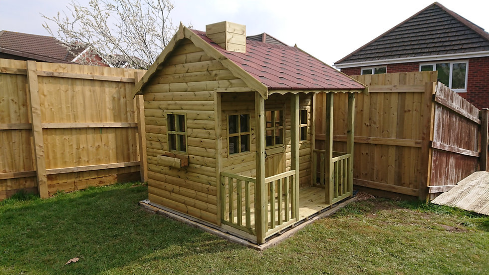 Childrens | Wooden | Playhouse | Manufacturer | Wales