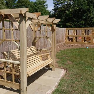 Wooden-Garden-Swing-Wales