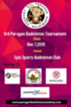 Copy of Badminton Poster - Made with Pos