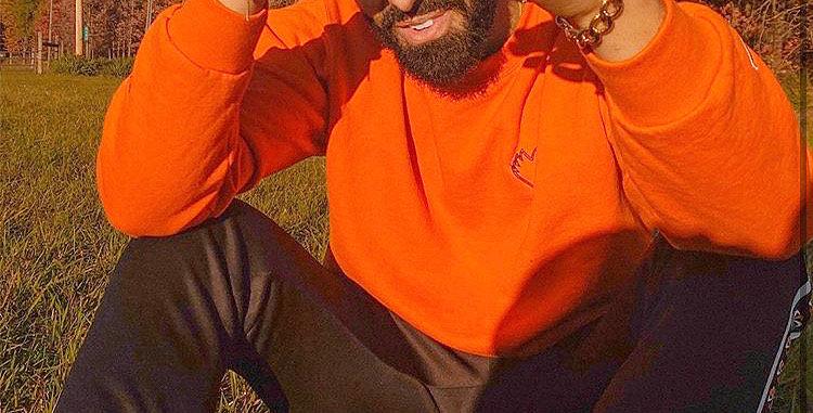 Orange Champion & W.A.H.H. Script Collection Crewneck