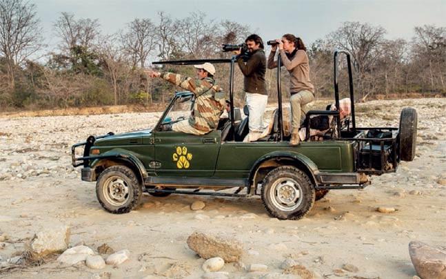 Jeep Safari in Jim Corbett