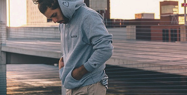 Grey Champion & W.A.H.H. Script Collection Hoodie