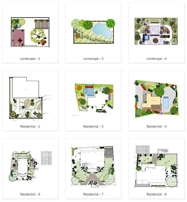 options landscape plan