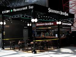 """Рекламная вывеска """"Shannon's Irish Bar"""" и фриз из алюминиевого композита"""