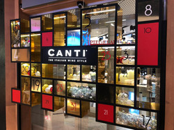 """Оформление витрины """"CANTI"""""""
