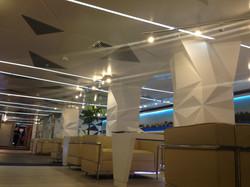 Полигональный потолок