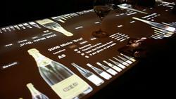 Интерактивная барная стойка для ресторана.