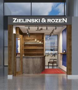 """Рекламная вывеска """"Zielinski&roseN"""""""