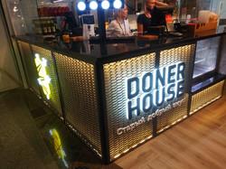 """Рекламная вывеска """"Doner House"""""""