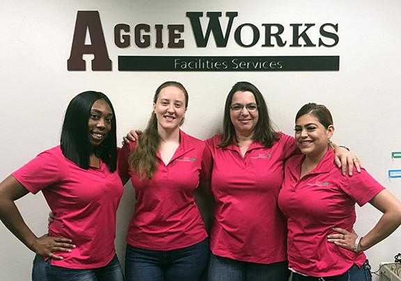 AggieWorks Staff 2018