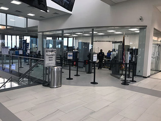 EASTERWOOD AIRPORT'S MCKENZIE TERMINAL RENOVATION COMPLETED