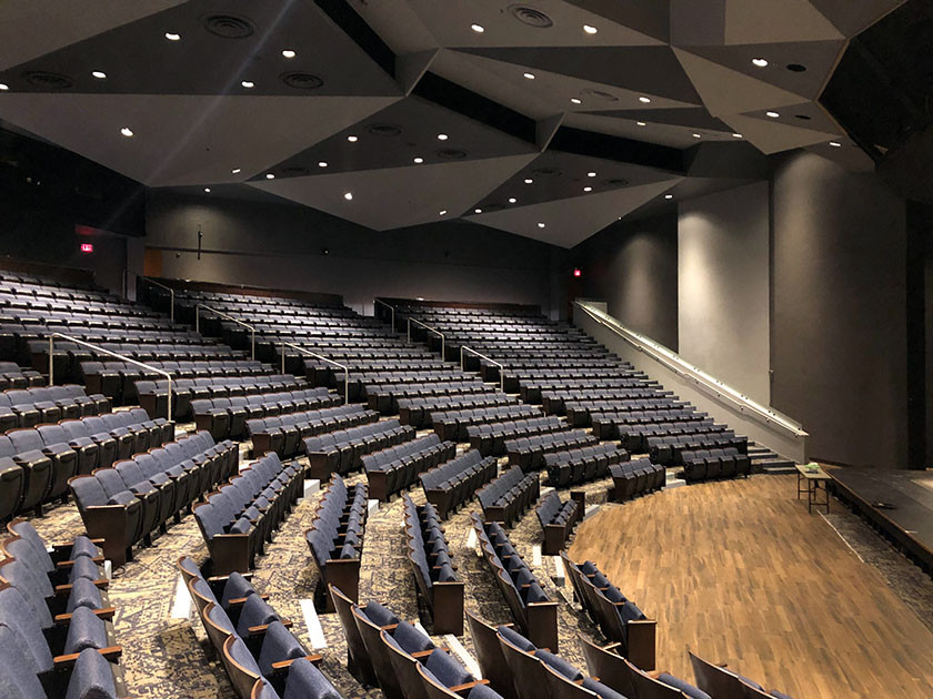 Rudder Theater After Renovations