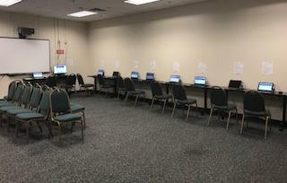 Job application work stations