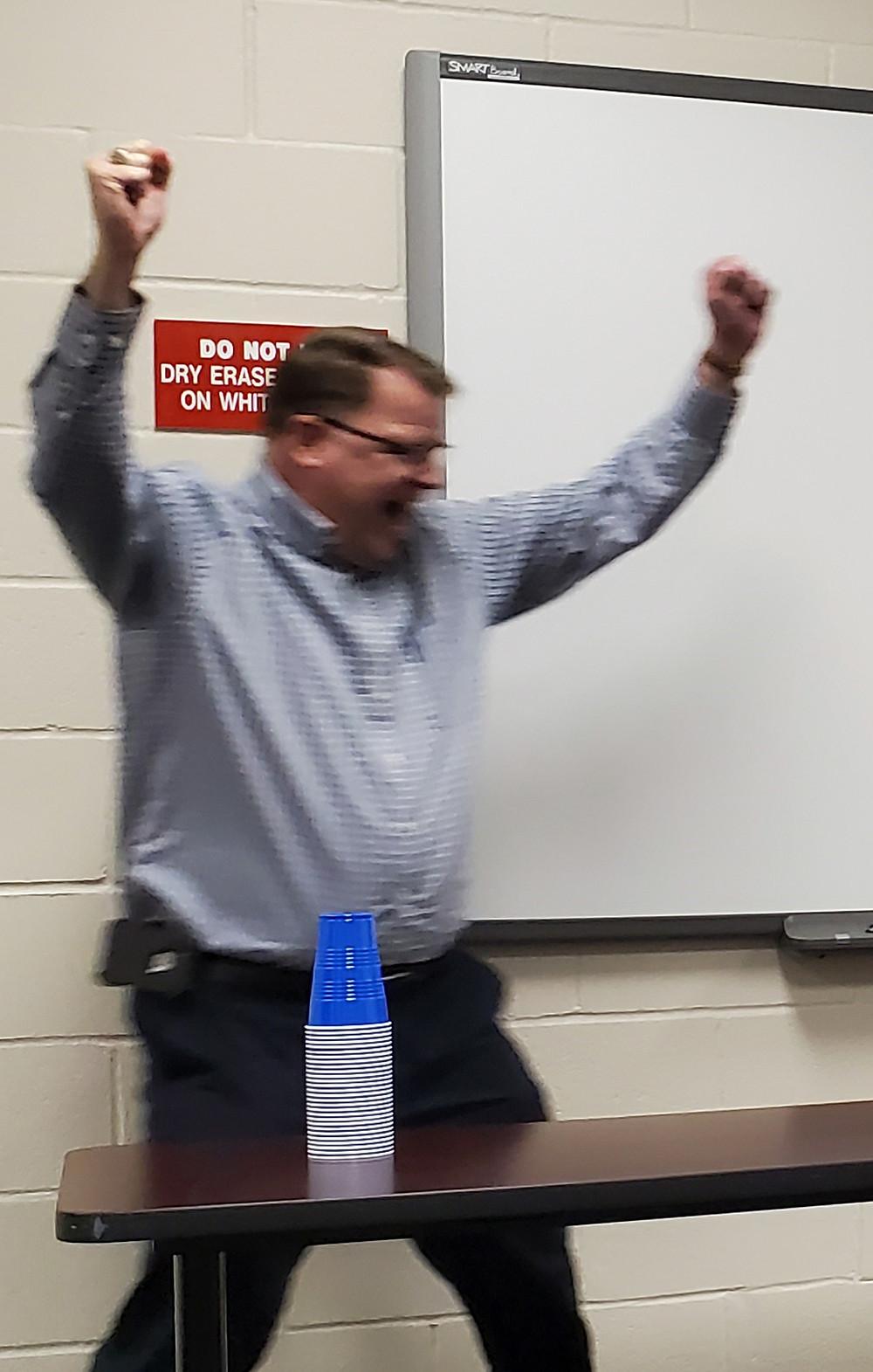Jeff Heye Wins the Game