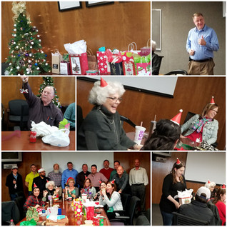 EDCS HOLDS ANNUAL ORNAMENT EXCHANGE