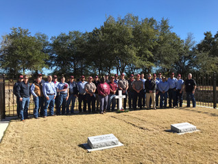 SSC GROUNDS & MAINTENANCE HONORED TO SERVE AT BUSH 41 INTERMENT