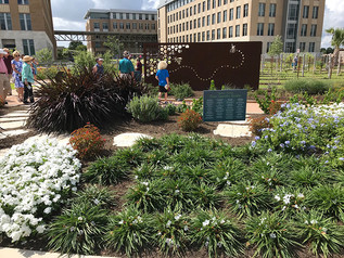 THE LEACH TEACHING GARDENS NOW OPEN
