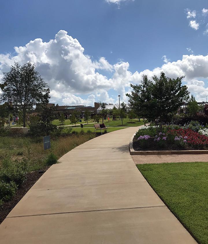 grand opening-walkway