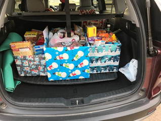 SSC CONTRIBUTES TO KBTX ANNUAL FOOD FOR FAMILIES FOOD DRIVE