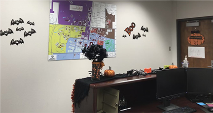 custodial office
