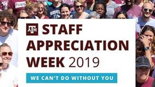 STAFF APPRECIATION WEEK 2019