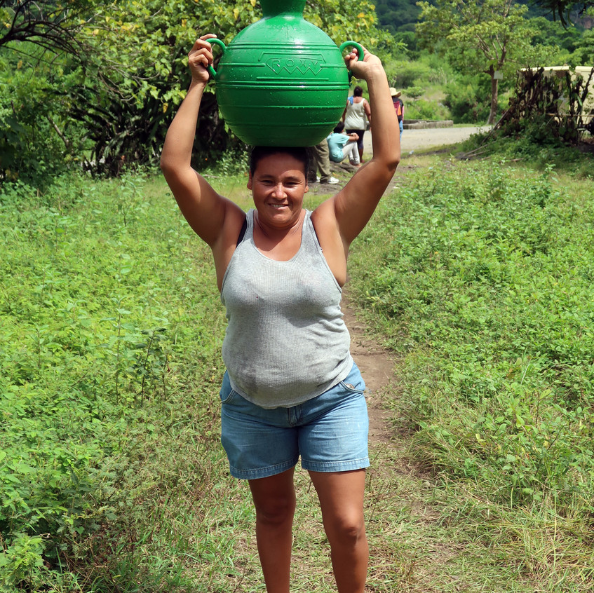 Carrying water from river