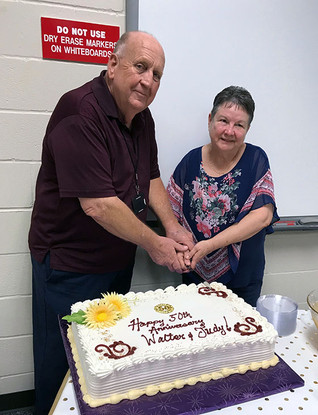 WALTER DRAPER CELEBRATES 50 YEARS OF MARRIAGE