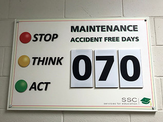 MAINTENANCE CELEBRATES 60 DAYS ACCIDENT FREE
