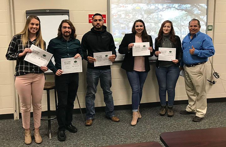 SSC 2019 Scholarship Winners