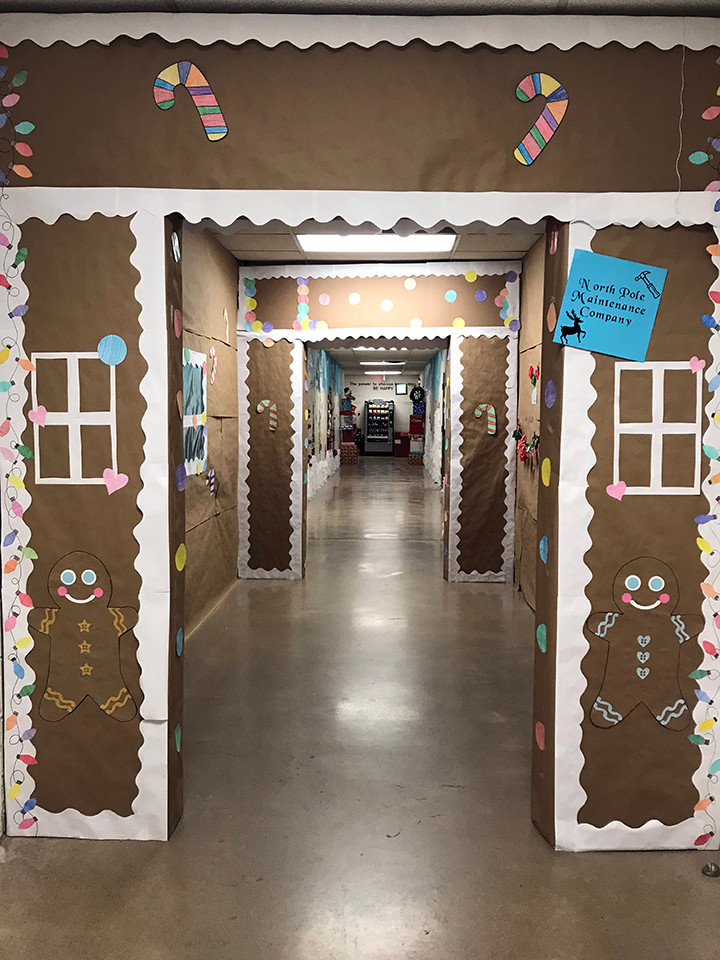 Maintenance Hallway